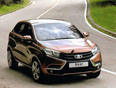 Lada XRAY avtomobili satışa çıxır
