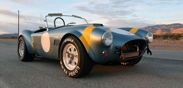 50. ilə xüsusi Shelby Cobra!