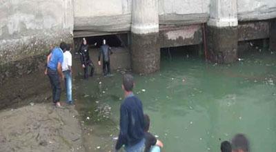 Ağdaşda kanala düşən maşının sürücüsü öldü