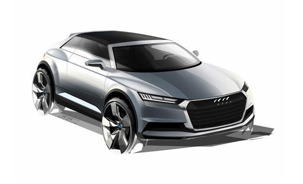 Yeni Audi Q1, 2016-cı ildə yollarda olacaq.