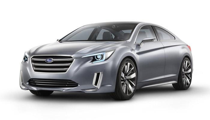 Subaru Legacy Concept tanıdıldı